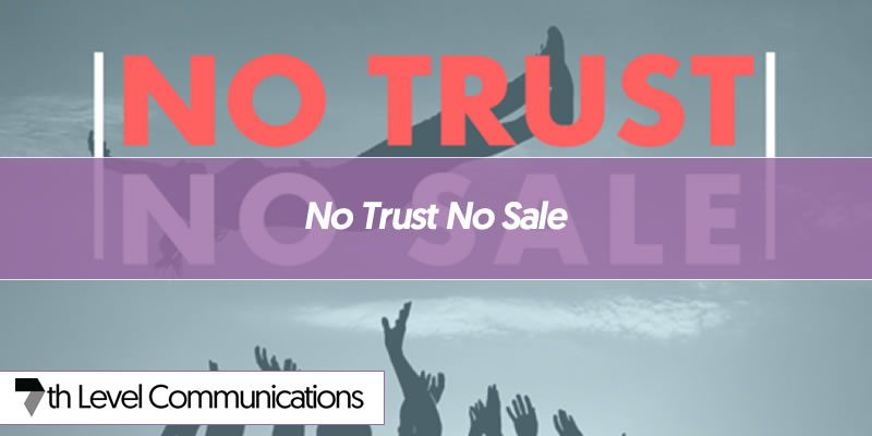 No Trust No Sale