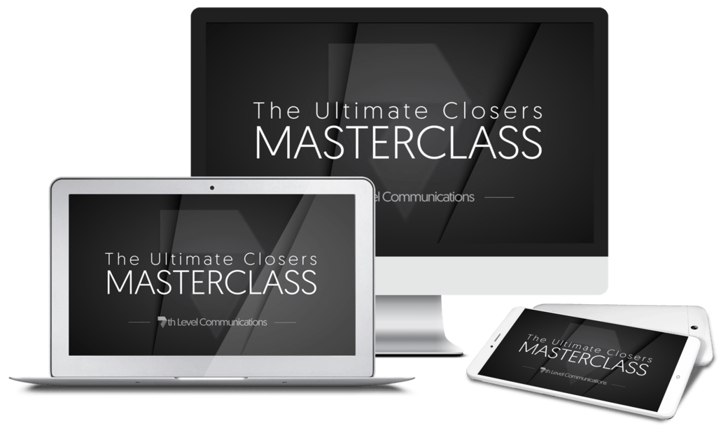 The Ultimate Closers MASTERCLASS